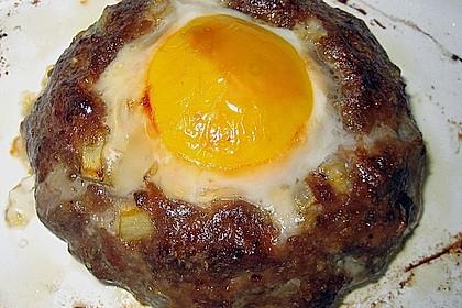 Eier im Hackfleischnest 7