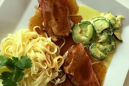 """Kalbsschnitzel """"Saltimbocca"""" 7"""
