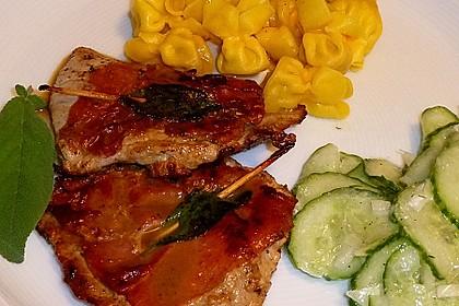 """Kalbsschnitzel """"Saltimbocca"""" 5"""