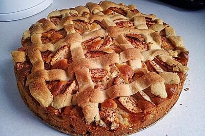 Amerikanischer Apfelkuchen 1