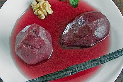 Rotwein-Birnen 1