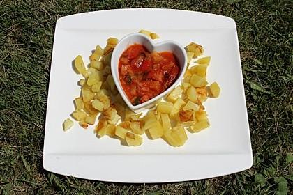 Knoblauch-Kartoffeln