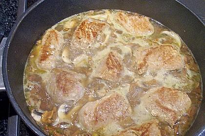 Spargel mit Schweinefilet und Pilzsauce 15