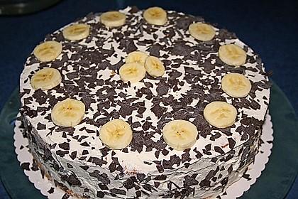 Bananen-Sahne-Kuchen 1