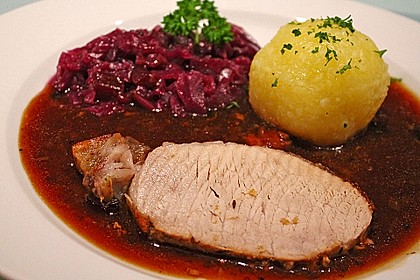 Dänischer Schweinebraten 1