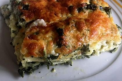 Spinat-Lasagne (Bild)