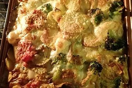 Brokkoli-Kartoffel-Auflauf 11