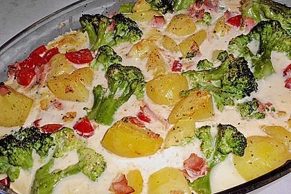 Brokkoli-Kartoffel-Auflauf 24