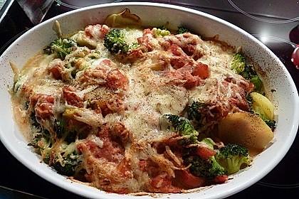 Brokkoli-Kartoffel-Auflauf 4