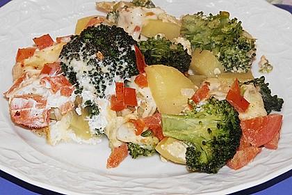 Brokkoli-Kartoffel-Auflauf 8