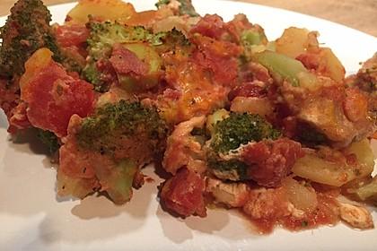 Brokkoli-Kartoffel-Auflauf 6