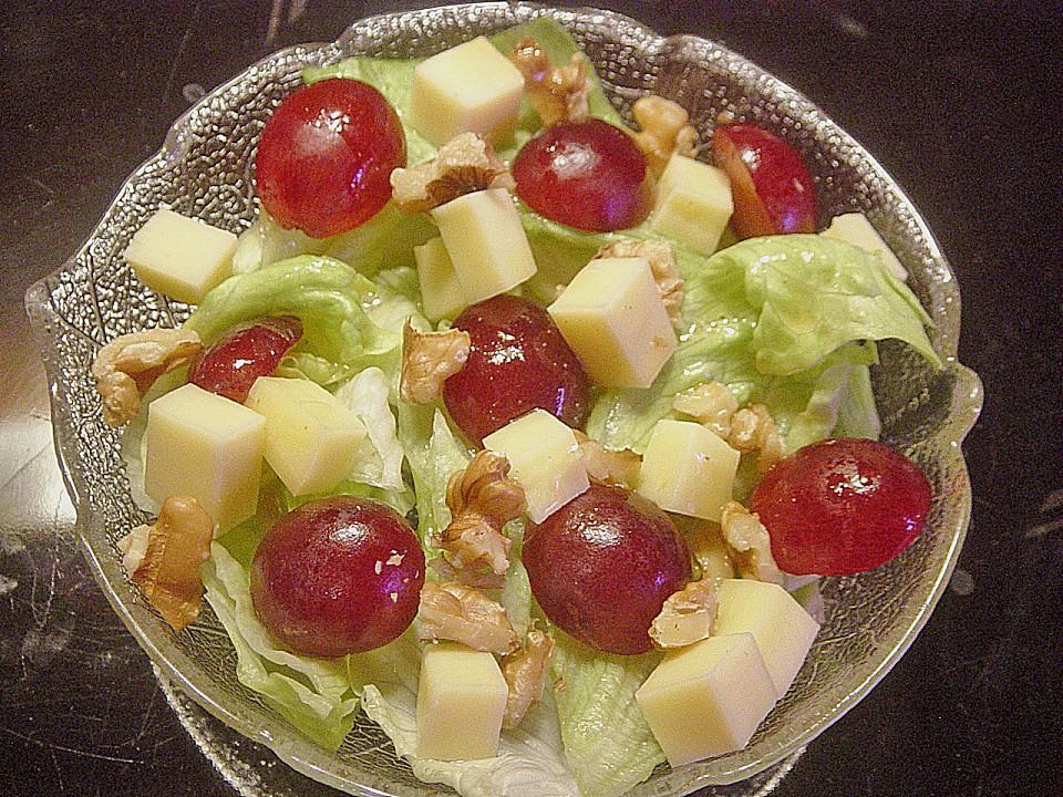 Käse Trauben Salat Von Miguan Chefkoch