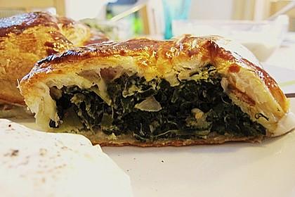 Griechische Blätterteig-Spinat-Taschen 7