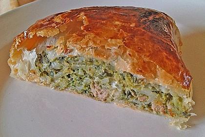 Griechische Blätterteig-Spinat-Taschen 5