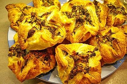 Griechische Blätterteig-Spinat-Taschen 12