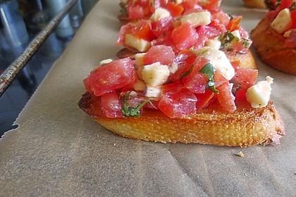 Crostini mit Tomaten 3
