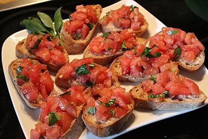 Crostini mit Tomaten 2