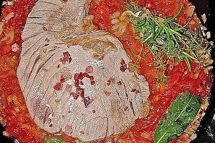 Thunfisch, wie man ihn in Concarneau zubereitet