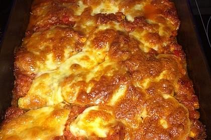 Cannelloni mit Gemüse-Hackfleisch-Füllung 11