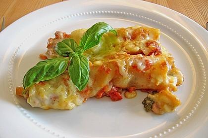 Cannelloni mit Gemüse-Hackfleisch-Füllung 1