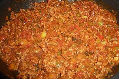 Cannelloni mit Gemüse-Hackfleisch-Füllung 13