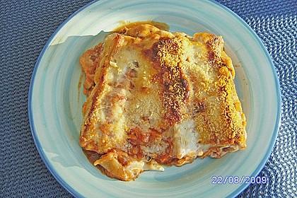 Cannelloni mit Gemüse-Hackfleisch-Füllung 7