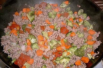 Cannelloni mit Gemüse-Hackfleisch-Füllung 14