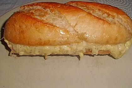 Baguette mit Füllung 7