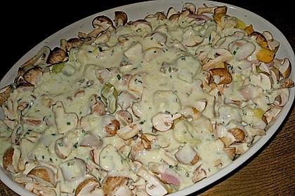 Tortellini-Champignon-Auflauf (Bild)