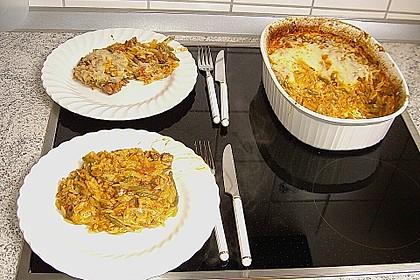 Lammfleisch mit Kritharàki