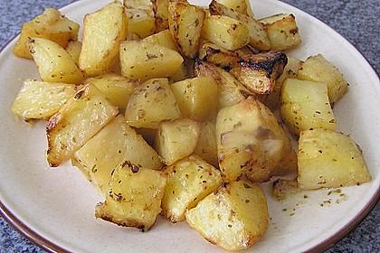Gebackene Knoblauchkartoffeln 4