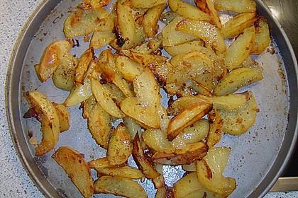 Gebackene Knoblauchkartoffeln 9