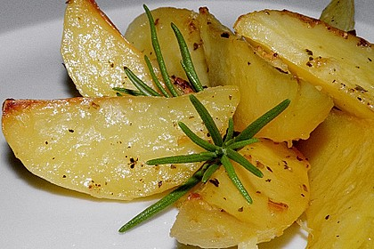 Gebackene Knoblauchkartoffeln