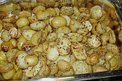Gebackene Knoblauchkartoffeln 3