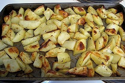 Gebackene Knoblauchkartoffeln 5
