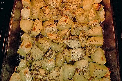 Gebackene Knoblauchkartoffeln 8