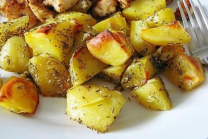 Gebackene Knoblauchkartoffeln 1