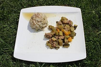 Risotto mit grünem Spargel und Parmesan 61