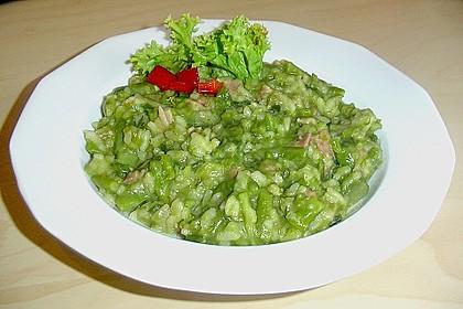 Risotto mit grünem Spargel und Parmesan 51