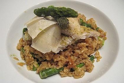 Risotto mit grünem Spargel und Parmesan 25