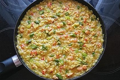 Risotto mit grünem Spargel und Parmesan 46