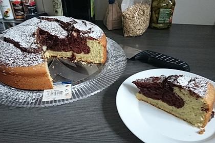 Marmorkuchen mit Nougatcreme 16