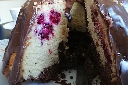 Marmorkuchen mit Nougatcreme 2