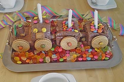 Marmorkuchen mit Nougatcreme 11