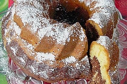 Marmorkuchen mit Nougatcreme 15