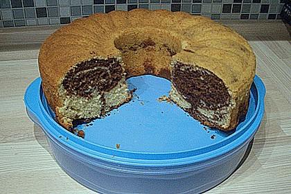 Marmorkuchen mit Nougatcreme 39
