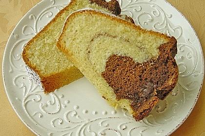 Marmorkuchen mit Nougatcreme 20