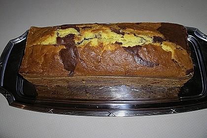 Marmorkuchen mit Nougatcreme 21
