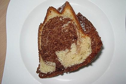 Marmorkuchen mit Nougatcreme 18
