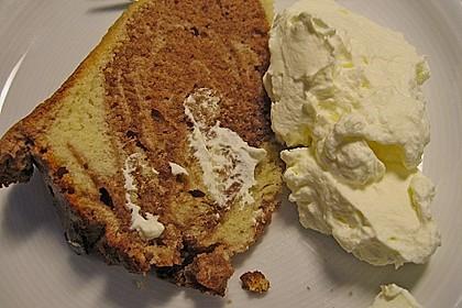 Marmorkuchen mit Nougatcreme 37